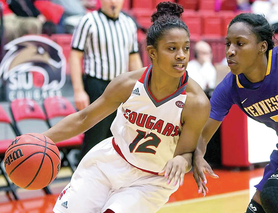 SIUE's Lauren White scored 16 points in her team's loss to Eastern Kentucky University Thursday in Richmond, Kentucky. Photo: SIUE Athletics