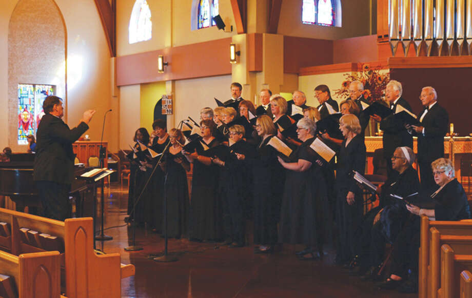 """The Great Rivers Choral Society's fundraiser, """"Valentine's Tea for Two,"""" will feature full choral performances and strolling small groups singing favorite love songs."""