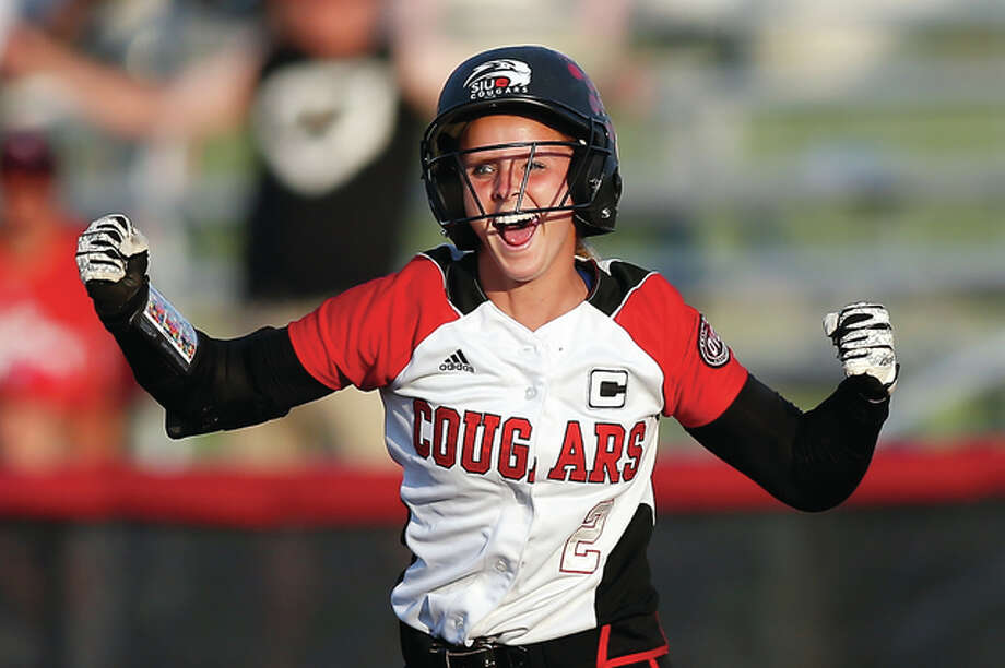 SIUE's Haley Chambers-Bock is one of the key returning players this season for the SIUE softball team. Chambers-Bock, a senior pitcher, was the Ohio Valley Conference Pitcher of the Year in 2015. SIUE was picked to finish second in the OVC in 2017 in a recent poll of the conference head coaches and sports information directors. Photo: SIUE Athletics