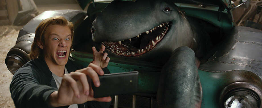 "Rebellious teen (Lucas Till) finds a monster in his junker pickup in ""Monster Trucks."" (Credit: Paramount Pictures/Paramount Pictures)"