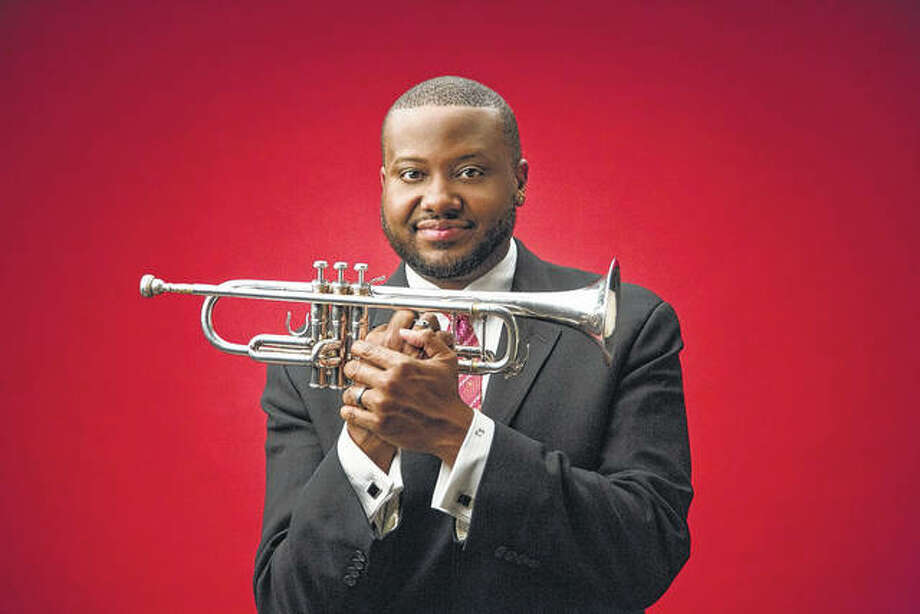 Master jazz trumpeter Sean Jones will be in concert Friday at Illinois College as part of the college's Fine Arts Series. Photo: Photo Provided