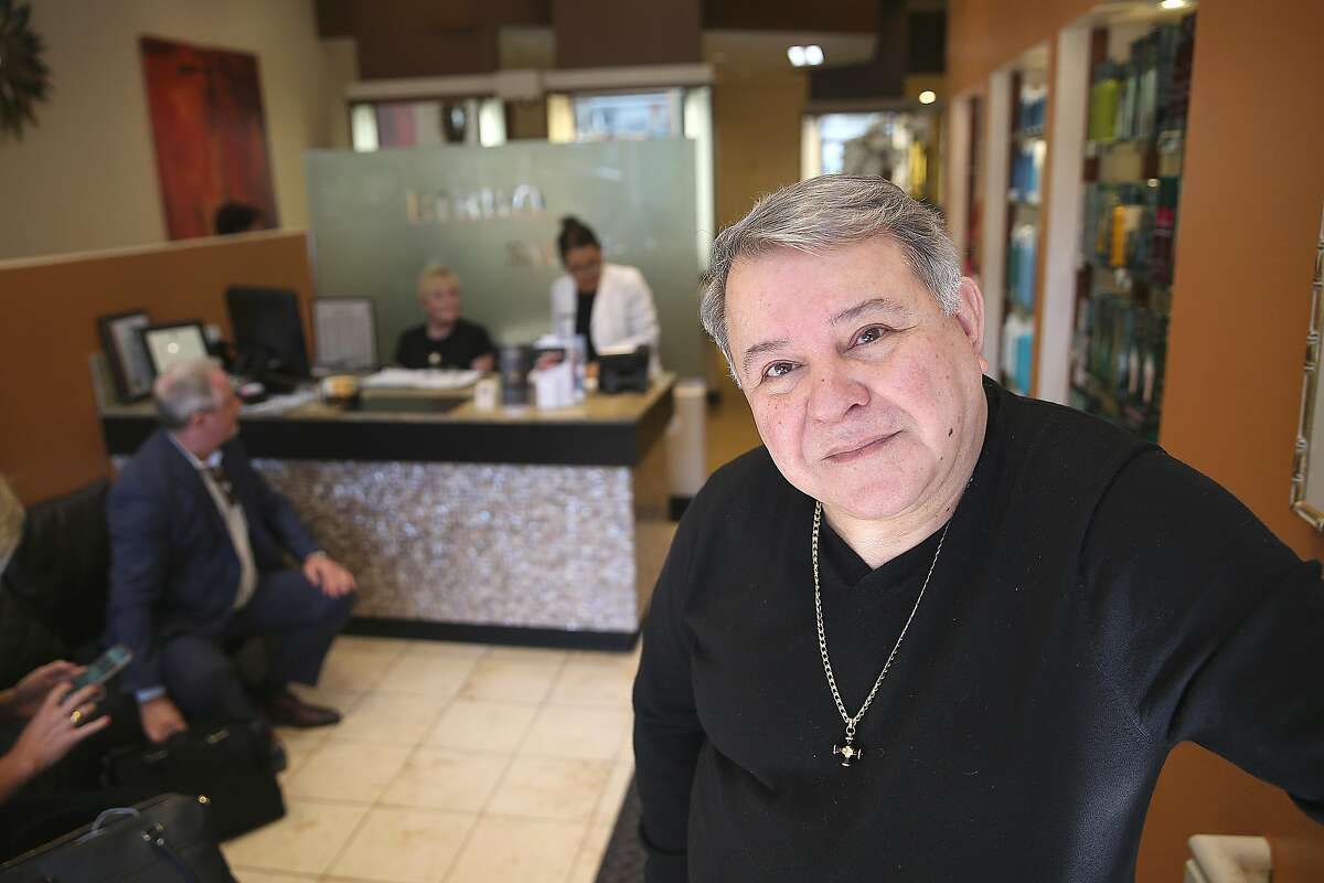 Bibbo Saab, owner of Bibbo Salon, considered closing his salon when a mentally ill woman constantly terrorized clients.