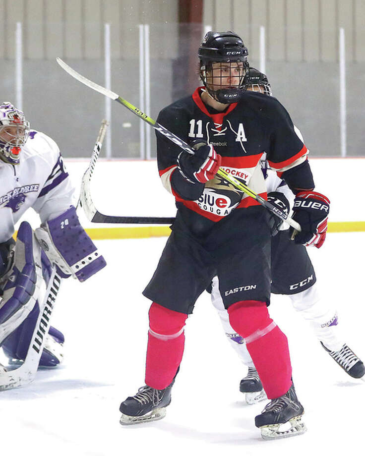 SIUE's Andrew Bond scored an unassisted goal in his team's 6-3 victory over Northern Illinois University Friday in the MACHA Tournament in Webster Groves, Missouri. Photo: Billy Hurst File Photo | For The Telegraph