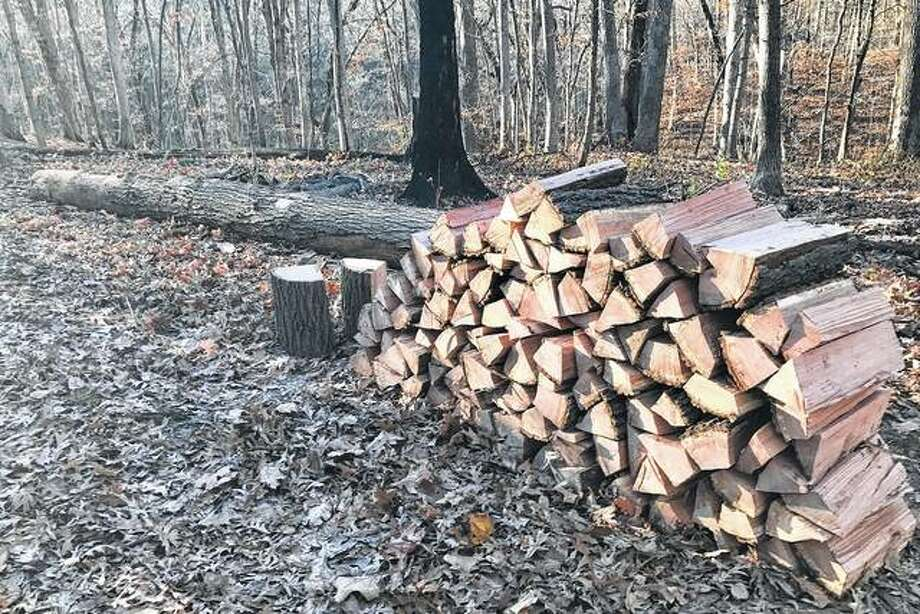 Although the temperatures this week have been unseasonably warm, a freshly chopped stack of wood is a reminder winter is coming.