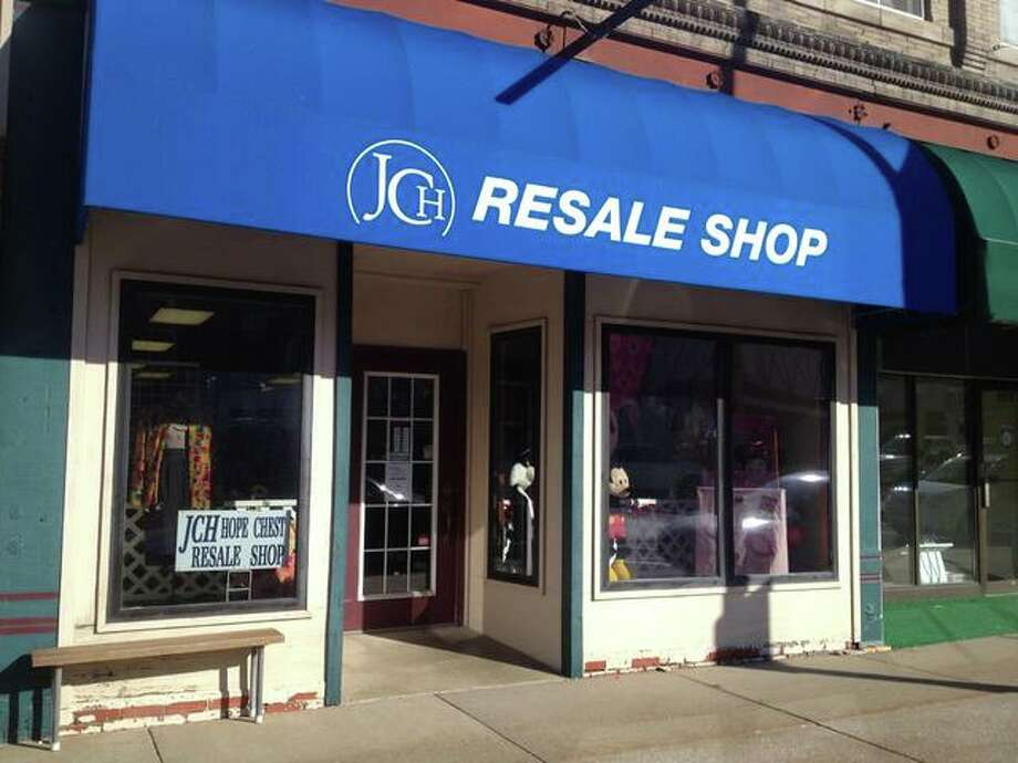 The Jersey Community Hospital's resale shop, located in downtown Jerseyville, is a hotspot for local bargain hunters, especially Tuesdays after the business has restocked.