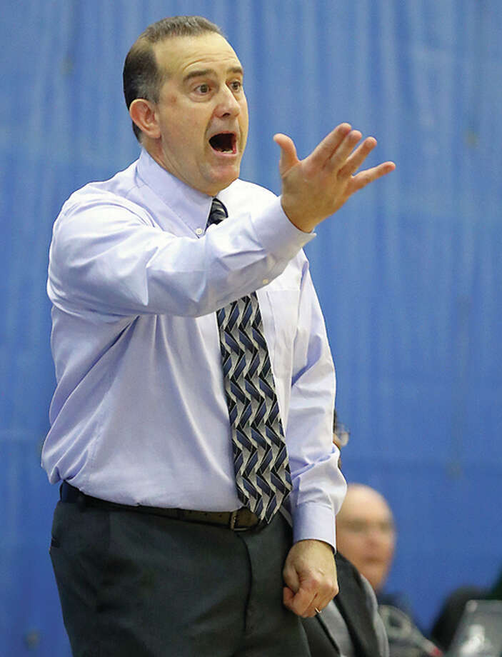 LCCC coach Doug Stotler's Trailblazers came from behind Saturday to knock off Olney Central College 81-78 at the River Bend arena. Photo: Telegraph File Photo