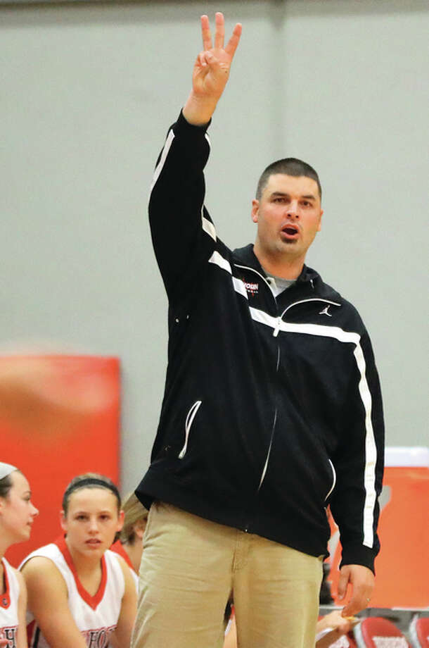 Coach Aaron Baalman's Calhoun Warriors earned their third straight trip to the Class 1A girls basketball state finals Monday night with a victory at the Salem Super-Sectional.