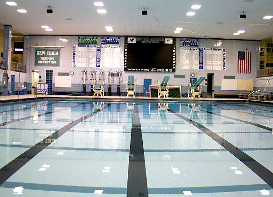 The pool at New Trier High School in Winnetka will be the site of the IHSA Boys State Swim and Dive Meet Friday and Saturday. Photo: IHSA Photo