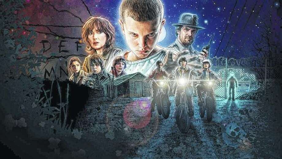"The Netflix original series ""Stranger Things"" won five Primetime Emmy Awards in 2017 and was nominated for another 13 Emmys. The series follows along when a young boy disappears and his friends, his mother and the police chief have to confront terrifying forces to try to get him back. Photo: Handout Photo 