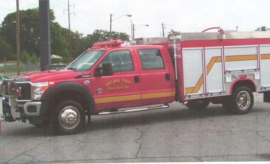 This F-550 truck model is similar to the quick attack vehicle the Wood River Fire Department is looking into purchasing.