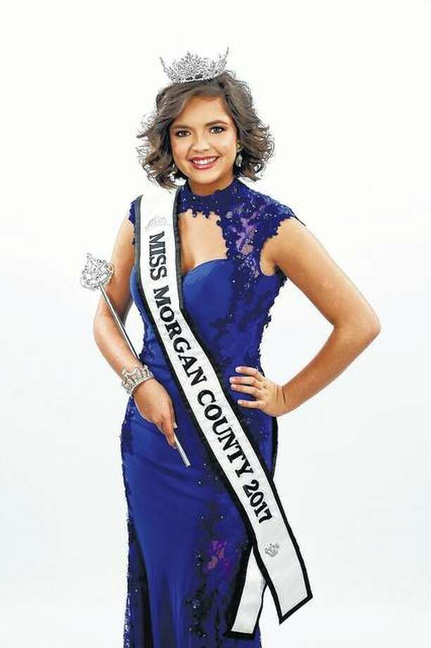 Morgan County Fair Queen Gracie Blu Richardson will compete beginning Thursday for the state title. Photo: Photo Provided