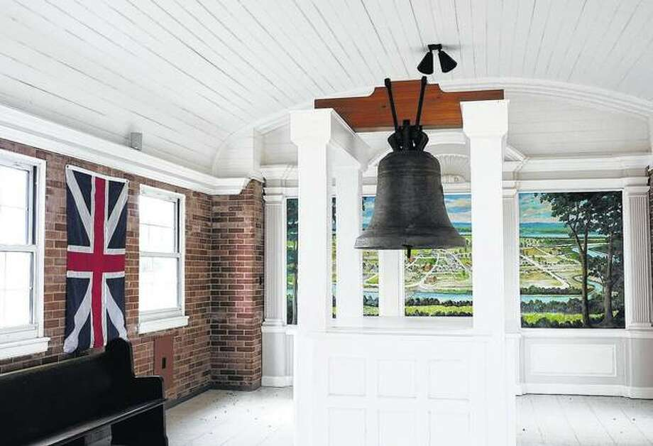 The Liberty Bell of the West was rung after Kaskaskia was captured from the British in 1778 by the Colonial Army.