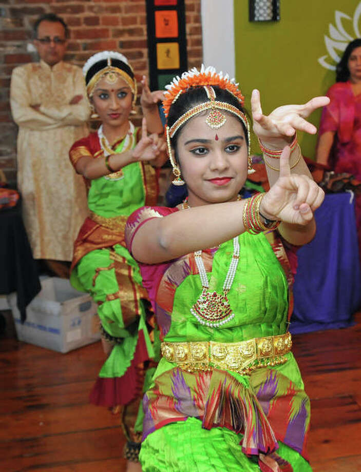 Indian dance is presented by Soorya Performing Arts on Saturday at River Bend Yoga.