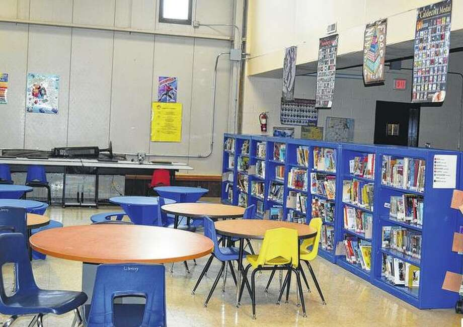 The Bluffs school board is looking into renovation projects that will update the district's junior high and elementary school buildings, including remodeling the district's media center. Photo: Samantha McDaniel-Ogletree | Journal-Courier