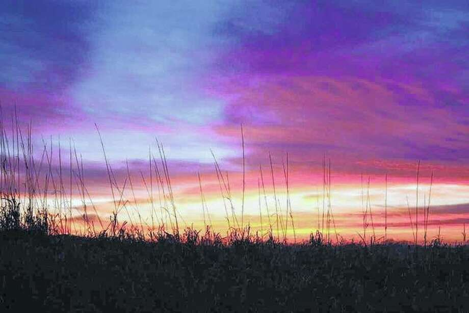 The sunset paints a rich blend of colors over Virginia. Photo: Nicole Gleason | Reader Photo