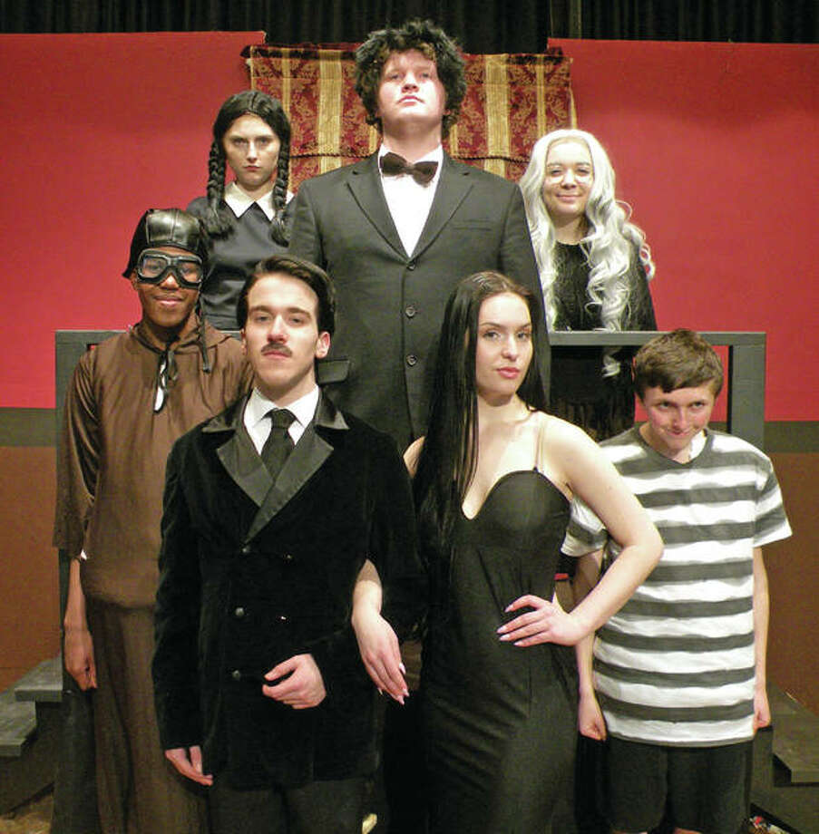 """The Addams Family"" appears on stage at Marquette Catholic High School Thursday, April 6, through Saturday, April 8."