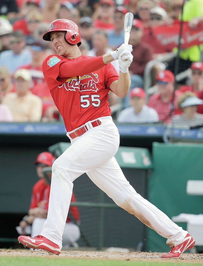 Stephen Piscotty has agreed to a $33.5 million, six-year contract with Cardinals, it was announced on Monday. Photo: AP File Photo