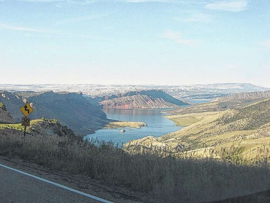 Gary Glaenzer | Reader photo Gary Glaenzer of Jacksonville snapped this glimpse of Flaming Gorge during a trip through Utah.