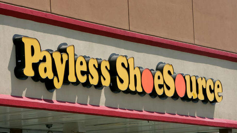 FILE- This Aug. 23, 2006, file photo shows a Payless store front is seen in Philadelphia. Shoe chain Payless ShoeSource has filed for Chapter 11 bankruptcy protection, becoming the latest retailer to succumb to increasing competition from online rivals like Amazon. The retailer said Tuesday, April 4, 2017, that it will be immediately closing nearly 400 stores as part of the reorganization.