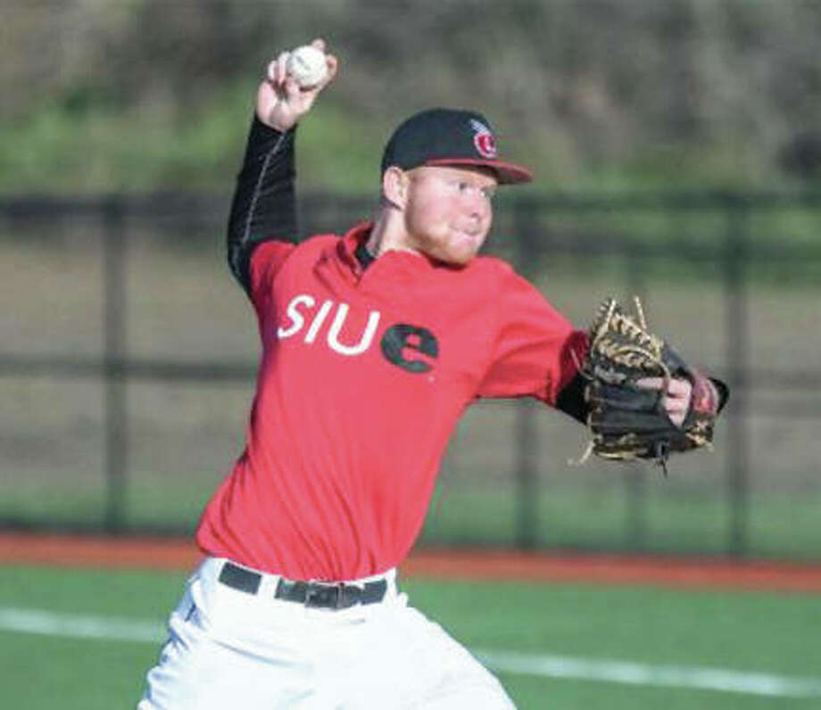 SIUE pitcher Brendan Miller turned in five scoreless innings Tuesday night in the Cougars' victory over Western Illinois at Roy Lee Field in Edwardsville. SIUE improves to 15-13. Photo: SIUE Athletics