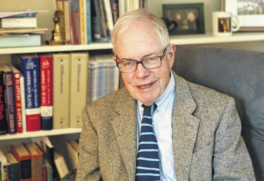 MacMurray College English professor Allan Metcalf 's new book describes the differences in word development for each generation, from the Republican Generation (born 1743-62) to today's millennials. Photo: Samantha McDaniel-Ogletree | Journal-Courier