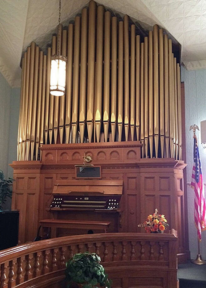 The Kilgen pipe organ at First Baptist Church of Roodhouse is turning 100 years old in December. Photo: Submitted Photo