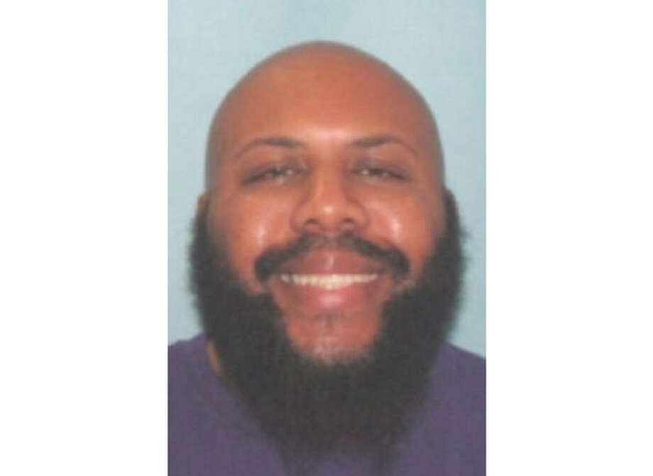 This undated photo provided by the Cleveland Police shows Steve Stephens. Cleveland police said they are searching for Stephens, a homicide suspect, who recorded himself shooting another man and then posed the video on Facebook on Sunday, April 16, 2017. (Cleveland Police via AP)
