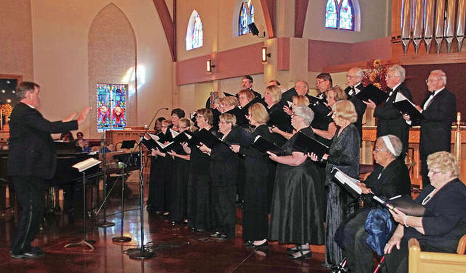 The Great Rivers Choral Society will perform comedic songs, emceed by comedian Mike Slatin.