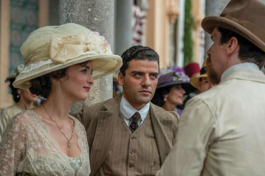 "This image released by Open Road Films shows Charlotte Le Bon, from left, Oscar Isaac and Christian Bale in a scene from ""The Promise."" Photo: (Jose Haro/Open Road Films Via AP)"
