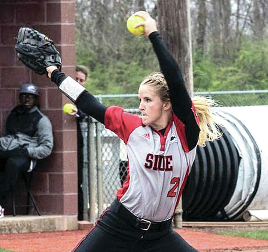 SIUE's Haley Chambers-Book was the 14th overall selection in Monday's National Pro Fastpitch College Draft. She was drafted by the Texas Charge.