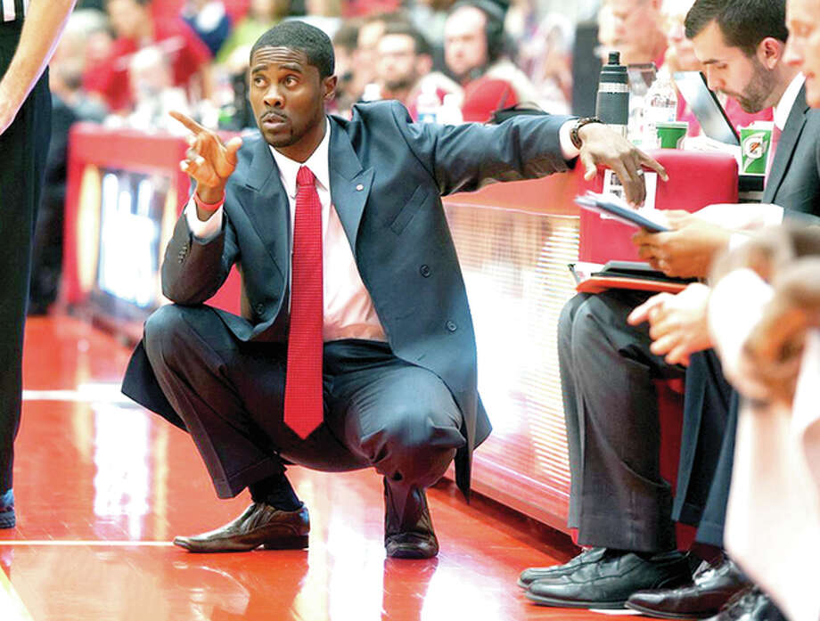 SIUE men's basketball coach Jon Harris has announced six recruits for next season's team. Photo: SIUE Athletics