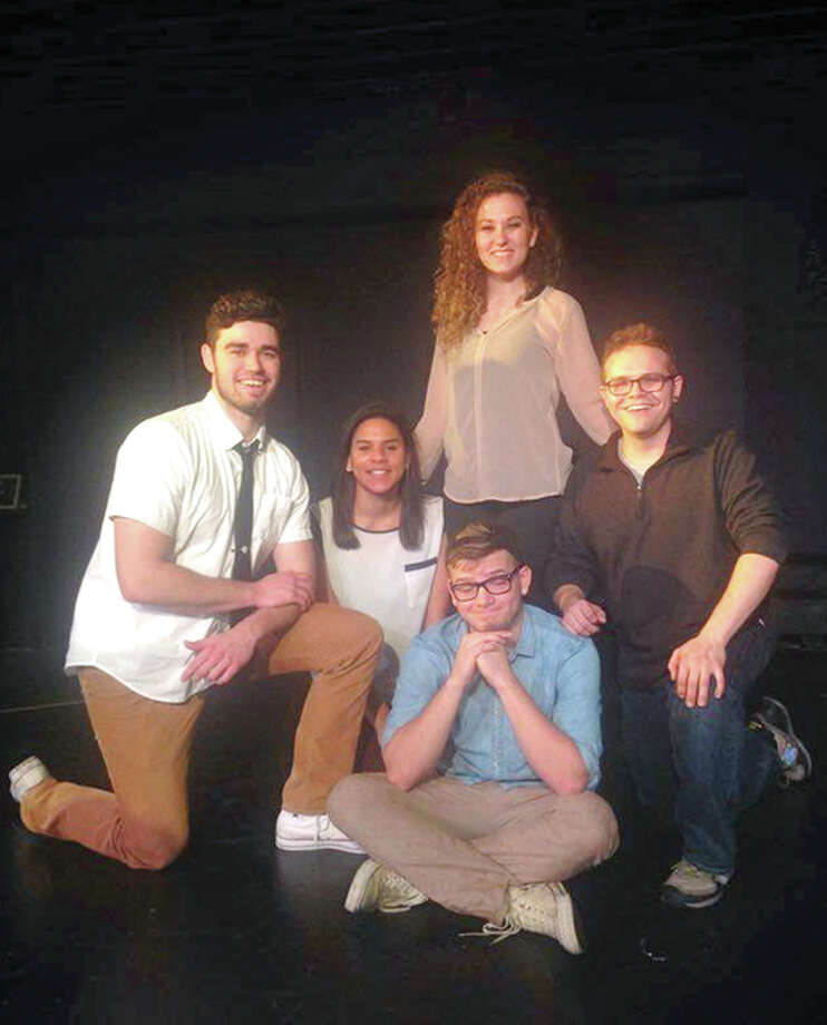 Members of the Let's Make Up improve troupe will perform Sunday at Playhouse on the Square during a taping of a CassComm cable television program. The taping is free and open to the public. Photo: Handout Photo