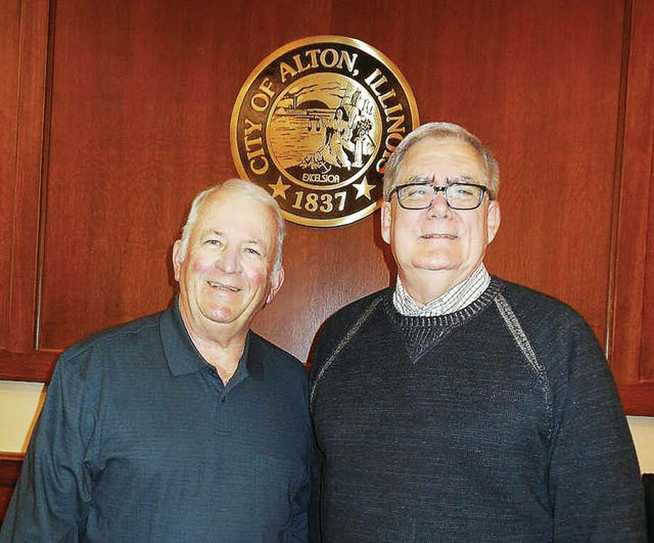 Aldermen Gary Fleming, 6th Ward; and Jim Ryan, 1st Ward, are retiring from the Alton City Council next week after serving a total of 34.5 years.