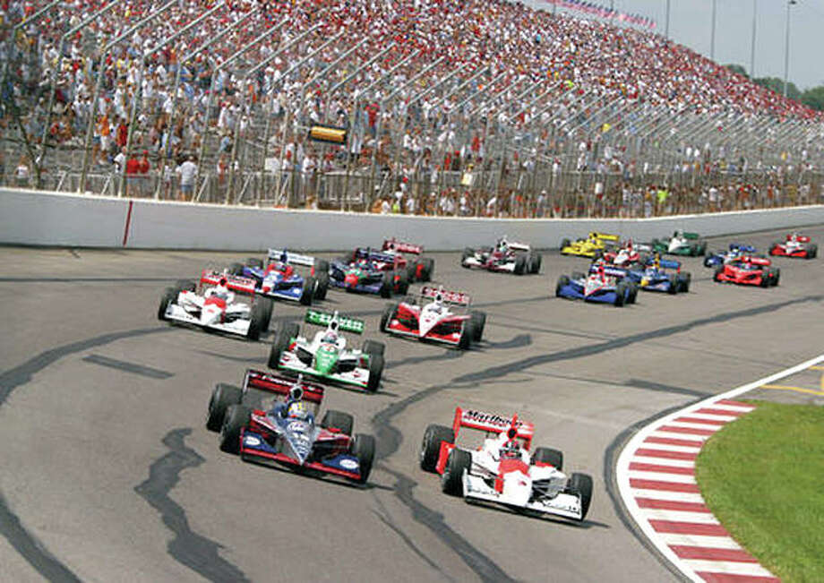 IndyCar racing will return Gateway Motorsports Park in Madison Aug. 26. The last IndyCar race at the track was in 2003 (pictured above). Photo: File Photo