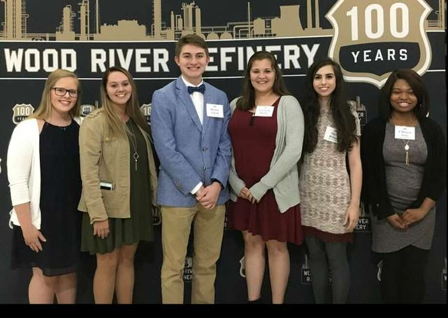 The 2017 CAP Scholarship winners were honored recently at the Wood River Refinery Community Leaders' Dinner. Pictured are the winners (from left to right): Lillian Callahan, Shelbie Jackson, Hayden Sebold, Elizabeth Hanke, Mary Wilton, and A'Miracle Gray.