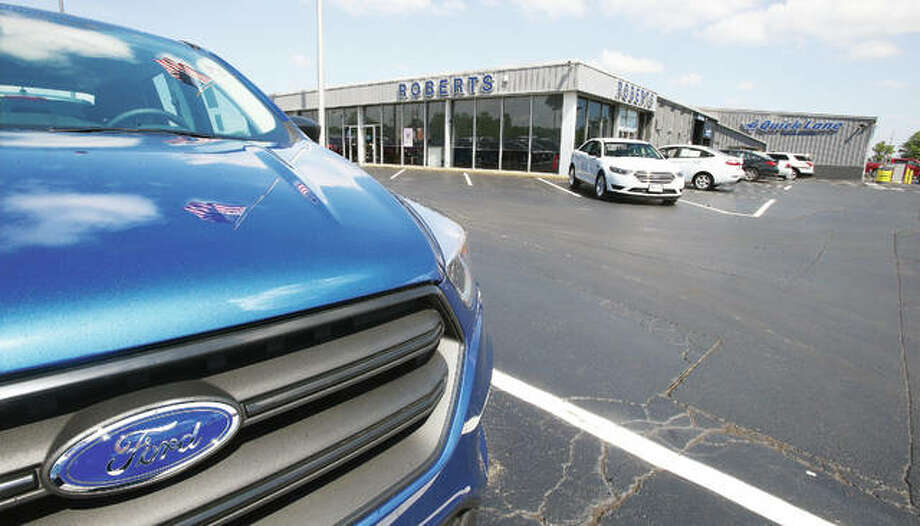 Roberts Motors, Inc., celebrating 50 years as Alton's Ford dealership, is located on the corner of Alby Street and the Homer Adams Parkway, Alton. Photo: John Badman The Telegraph
