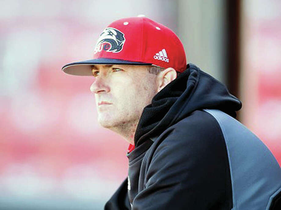SIUE baseball coach Sean Lyons and his Cougars will begin a three-game series at Jacksonville State Thursday with an eye on landing a berth in the Ohio Valley Tournament. Photo: SIUE Athletics