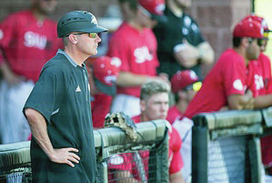 SIUE baseball coach Sean Lyon's team dropped a 3-1 decision to Jacksonville State Friday in Oxford, Alabama, eliminating the Cougars from contention for a berth in the Ohio Valley Tournament., Photo: SIUE Athletics