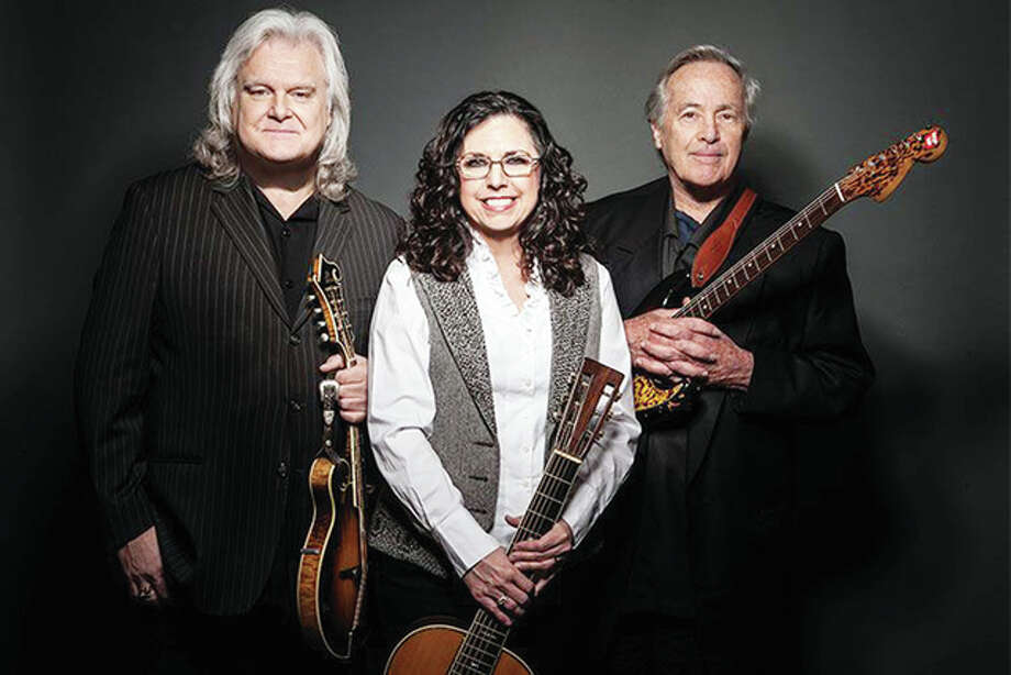 Ricky Skaggs (from left), Sharon White and Ry Cooder will be in concert Sunday at the University of Illinois-Springfield's Sangamon Auditorium. Photo: Handout Photo