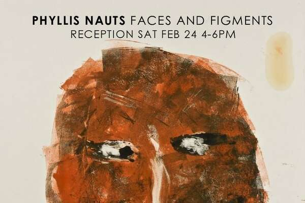 Paintings by Phyllis Nauts are featured in the new art show at the Hunt Library in Falls Village, with an opening scheduled for Feb. 24.