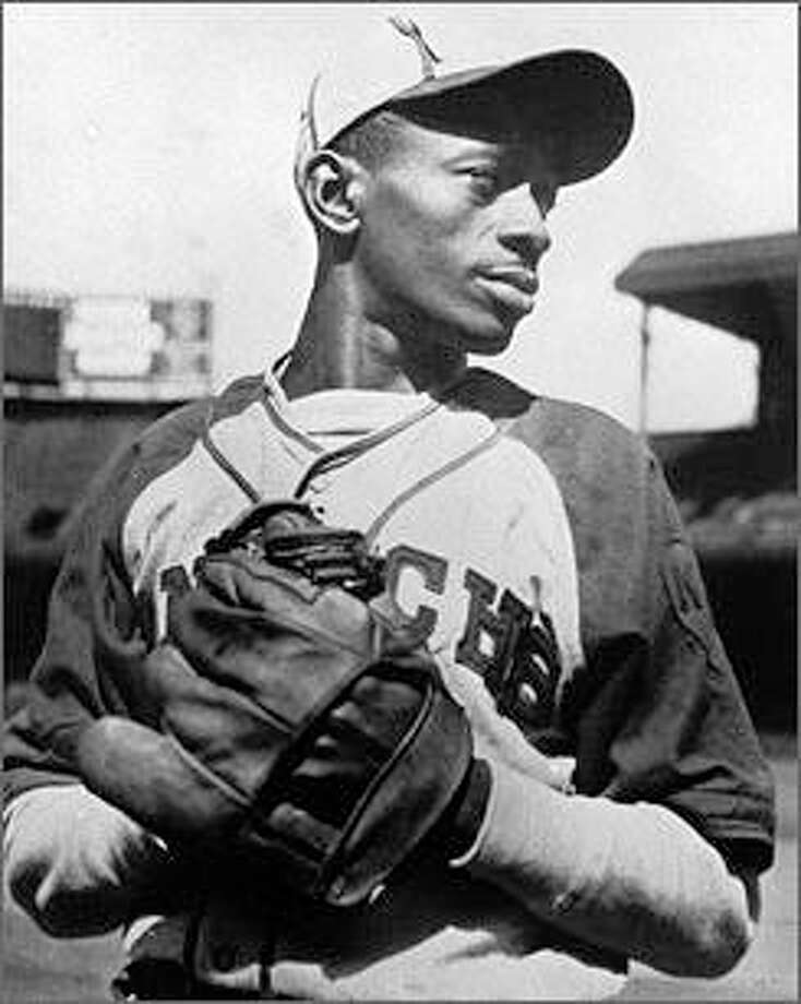 "Leroy ""Satchel"" Paige first played for the semi-professional Mobile Tigers from 1924 to 1926. He began his professional baseball career in 1926 with the Chattanooga Black Lookouts of the Negro Southern League and became one of the most famous and successful players from the Negro leagues. He also played for the St. Louis Browns and was the first person from the Committee on Negro Baseball Leagues to be inducted in the National Baseball Hall of Fame. Photo: For The Telegraph"