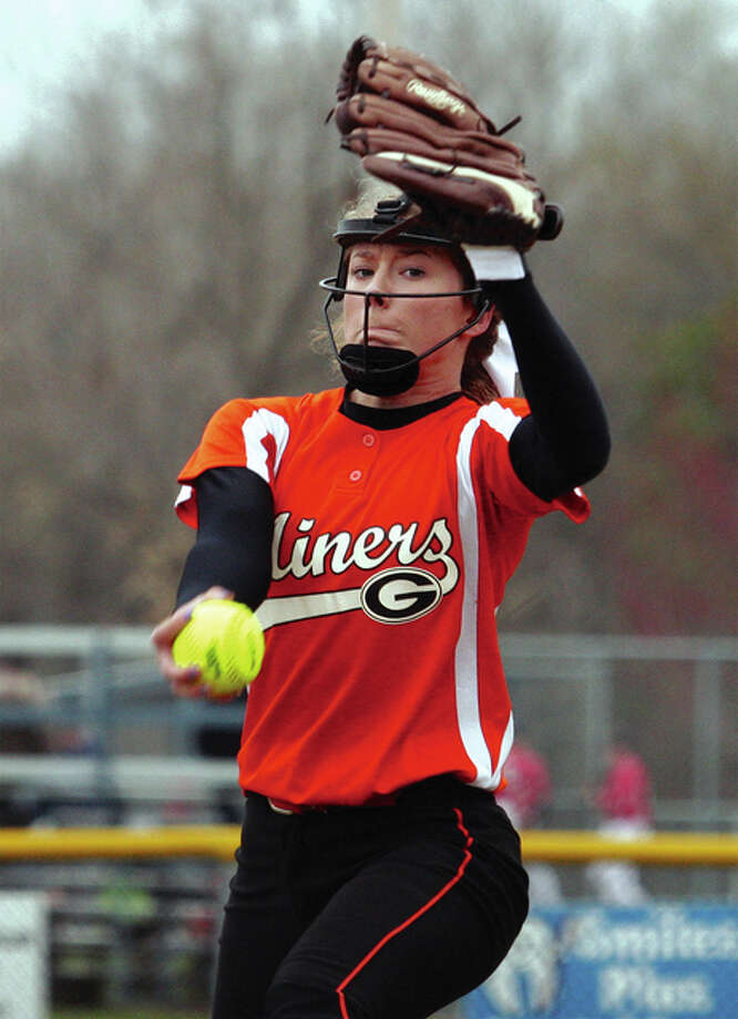 Gillespie's Addison Bryant hurled a one-hitter and struck out 10 in an 8-1 victory over Marquette Catholic Saturday. Photo: James B. Ritter File Photo | For The Telegraph