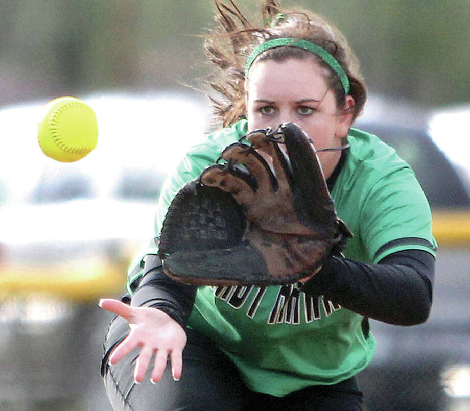 Infielder Kenlie Henson is one of three starters returning for the Carrollton Hawks this season. Photo: Telegraph File Photo