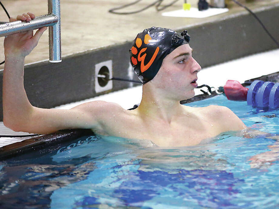 Edwardsville YMCA Breakers swimmer Brian Baggette finished 33rd in the timed finals of the 1,000-yard freestyle Monday on the first day of the YMCA Short Course Nationals in Greensboro, N.C. The national meet continues through Friday. Photo: Billy Hurst File Photo | For The Telegraph