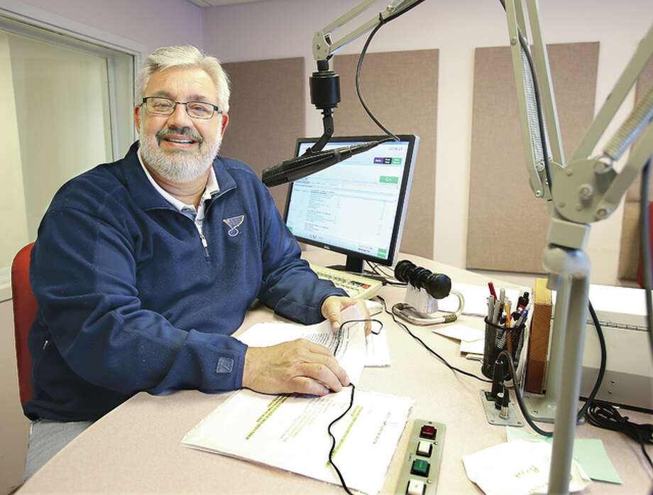 WBGZ Radio personality Sam Stemm is starting a semi-retirement from his longtime position at the Alton radio station. Photo: John Badman | The Telegraph