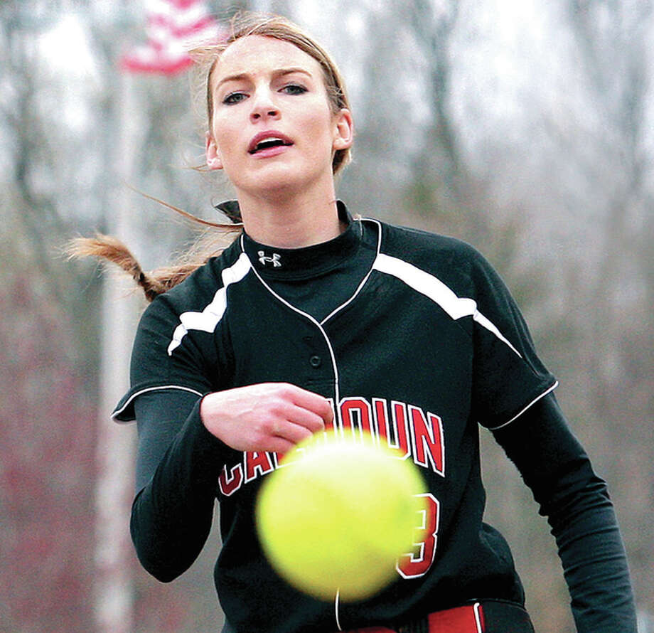 Grace Baalman of Calhoun hurled a six-inning perfect game against North Greene Tuesday. Photo: Telegraph File Photo