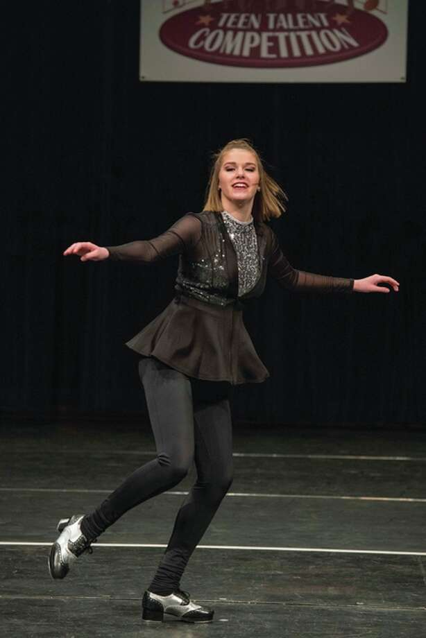 Abby Zaiz, 15, is a tap dancer who has danced since she was 2 years old. She attends Belleville East High School in Belleville, Illinois.