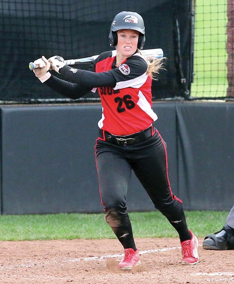 Senior outfielder Jordan LaFave leads the SIUE offense with 37 hits and a .316 batting average.