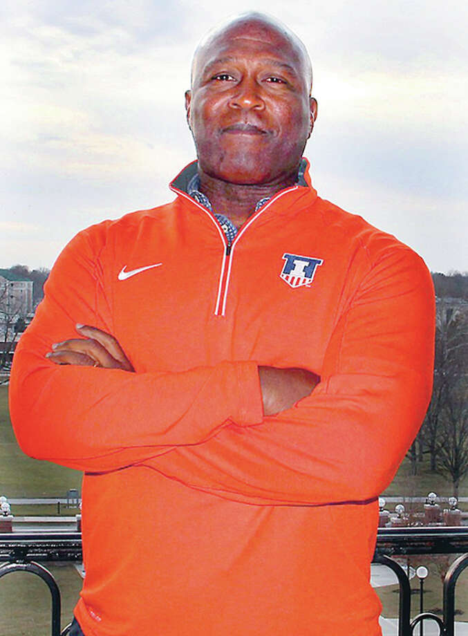 Lovie Smith was hired as the new University of Illinois football coach on March 7. Photo: Fighting Illini Athletics