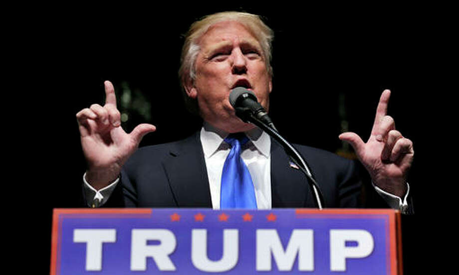 Friday, April 15, file photo, Republican presidential candidate Donald Trump speaks during a campaign event in Hartford, Conn. In the event that the U.S. economy crashed, Trump has floated a recovery plan based on his own experience with corporate bankruptcy: Pay Americas creditors less than full value on the U.S. Treasurys they hold. Experts see it as a reckless idea that would send interest rates soaring, slow economic growth and undermine confidence in the worlds most trusted financial asset.